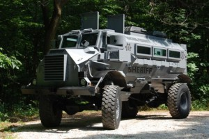 Armored Vehicle acquired by Racine County, WI