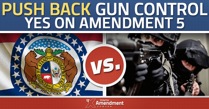 Missouri passed Amendment 5 to the state constitution on August 5th, 2014 protecting the ownership of firearms and their use for protection