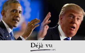 Obama trump deja vu 2