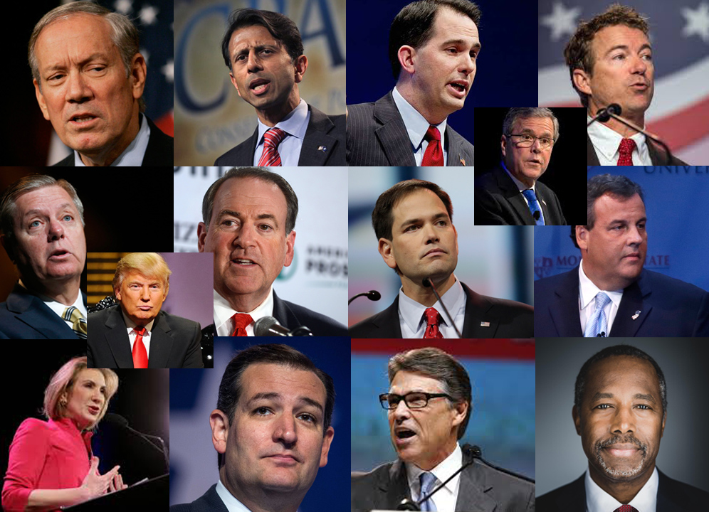 Presidential Candidate Montage cover
